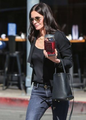 Courteney Cox - Out in Beverly Hills