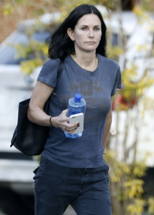 Courteney Cox out in Los Angeles