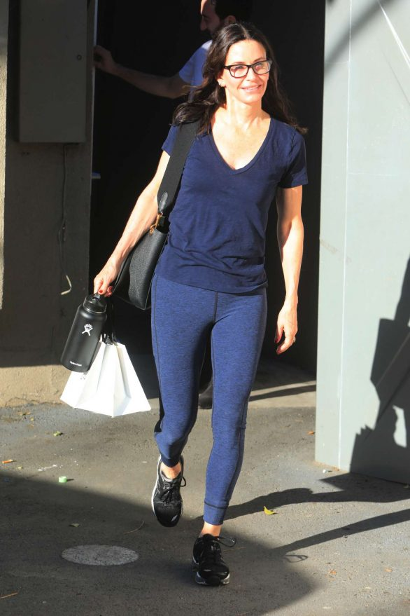 Courteney Cox - Out shopping in West Hollywood
