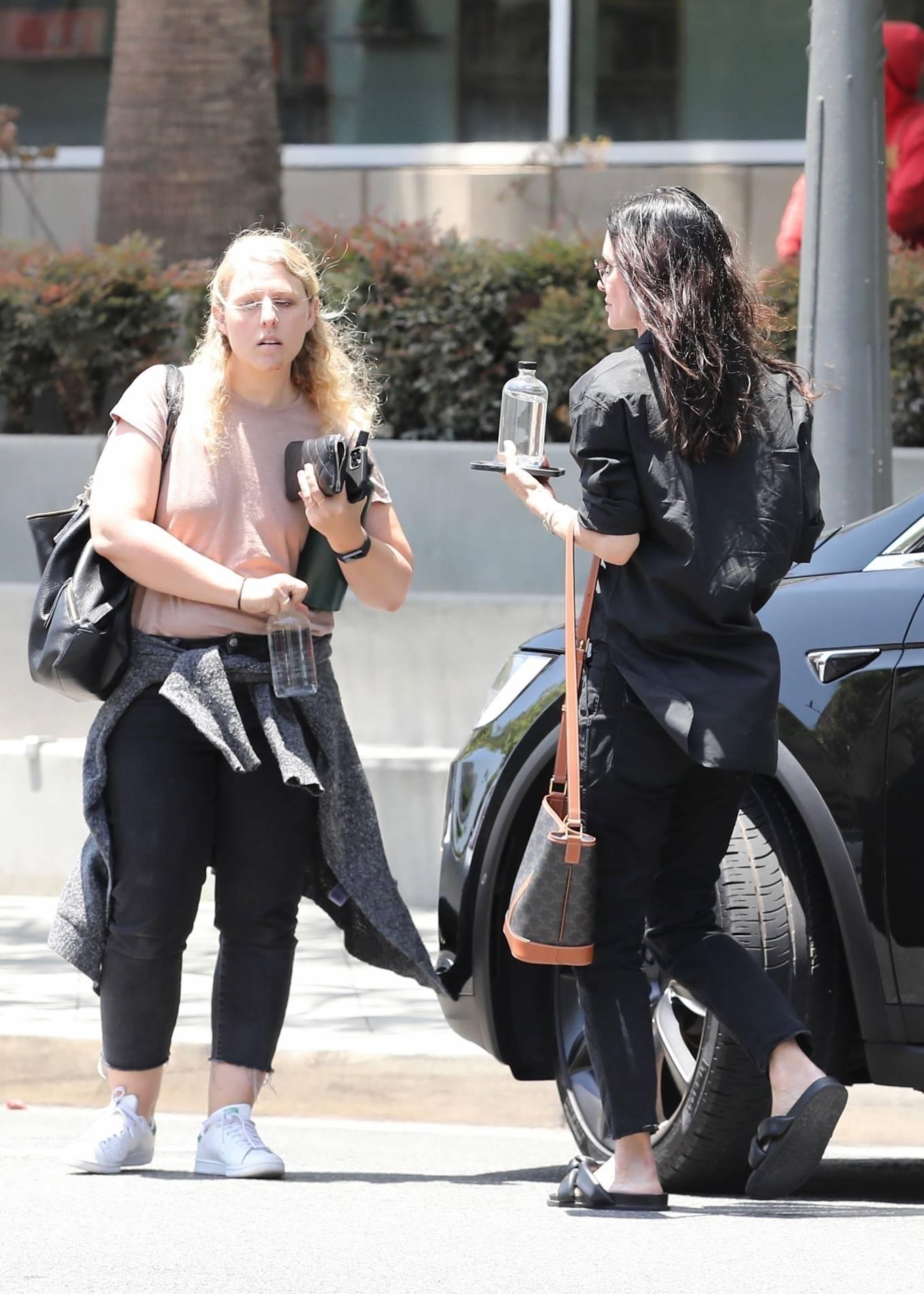 Courteney Cox 2021 : Courteney Cox – Seen running errands in Santa Monica-05