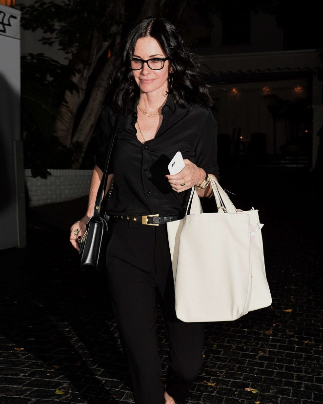 Courteney Cox: Superga XO Jennifer Meyer Collection Launch -01