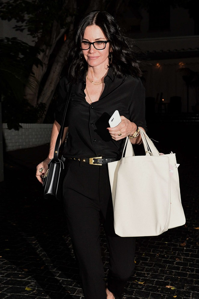 Courteney Cox - Superga XO Jennifer Meyer Collection Launch in Los Angeles