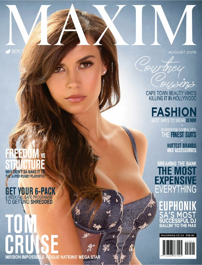 Courtney Cousins - Maxim South Africa Magazine (August 2015)