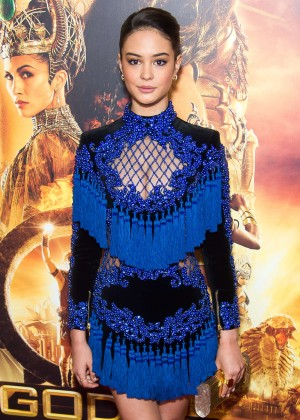 Courtney Eaton - 'Gods Of Egypt' Premiere in New York