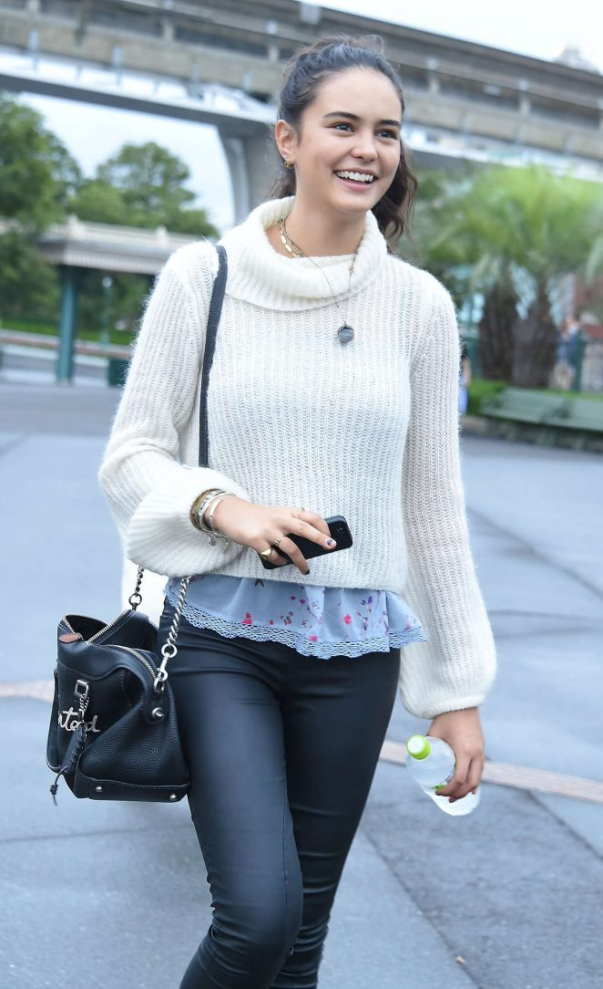 Courtney Eaton in Tights out in Tokyo