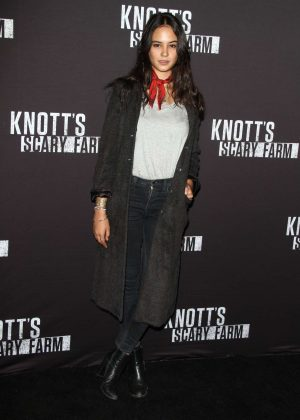 Courtney Eaton - Knott's Scary Farm Opening Night in Los Angeles