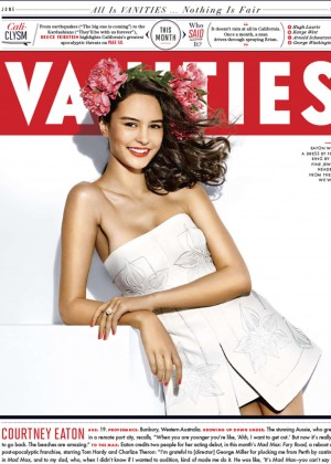 Courtney Eaton - Vanity Fair Magazine Cover (June 2015)