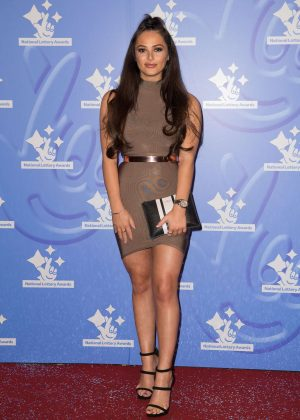 Courtney Green - National Lottery Awards 2016 in London
