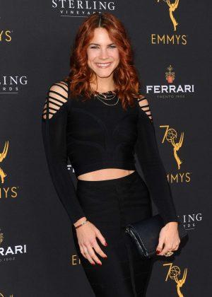Courtney Hope - Television Academy Daytime Peer Group Emmy Celebration in LA