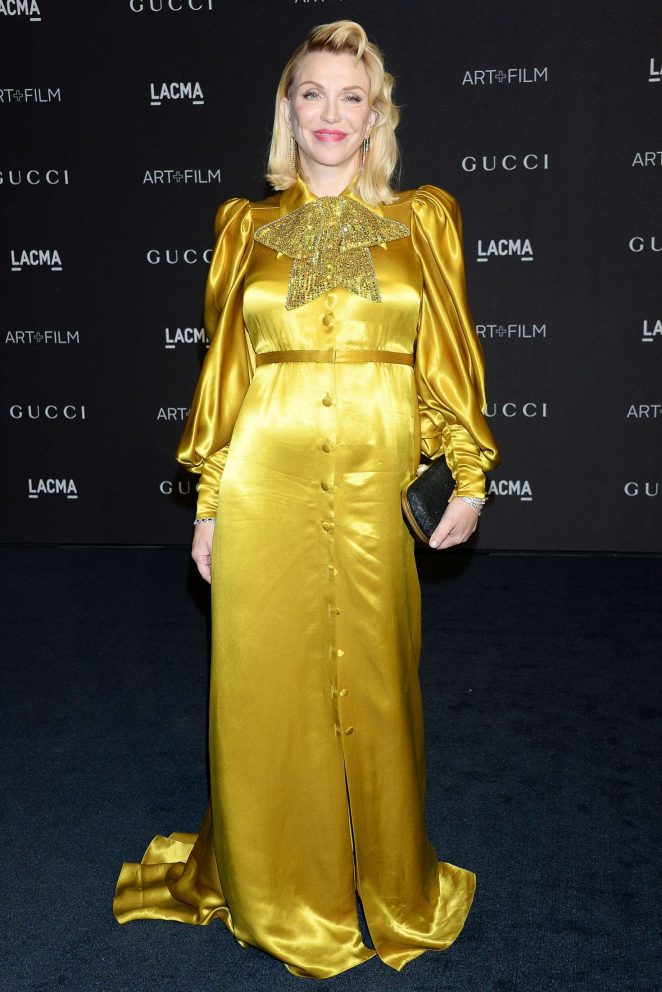 Courtney Love – 2018 LACMA Art+Film Gala in Los Angeles