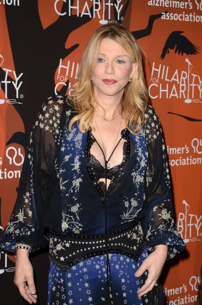 Courtney Love – 5th Annual Hilarity for Charity Variety Show in Hollywood