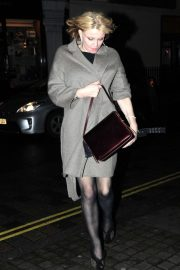 Courtney Love - Arrives at Chiltern Firehouse in London