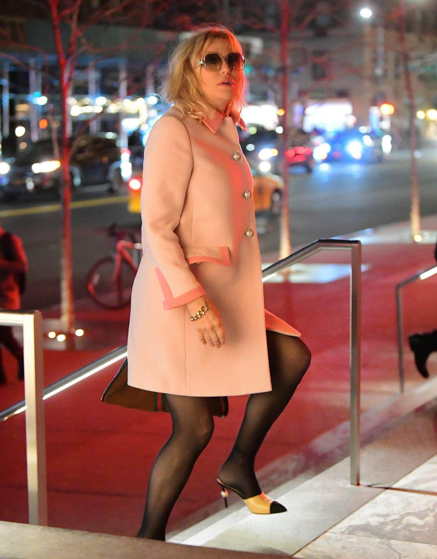Courtney Love 2018 : Courtney Love: Arrives at the Mercer Kitchen -03