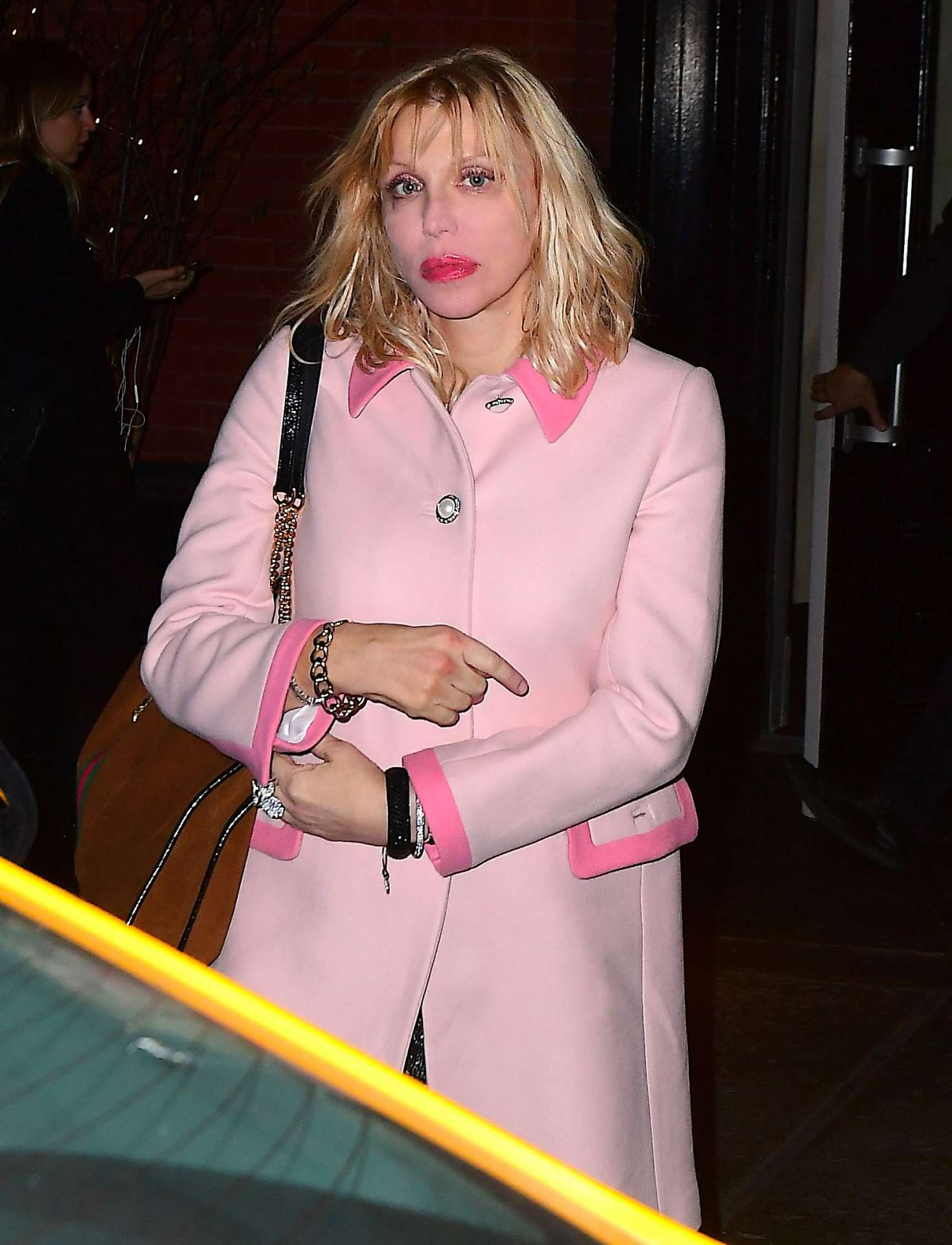Courtney Love 2018 : Courtney Love: Arrives at the Mercer Kitchen -07