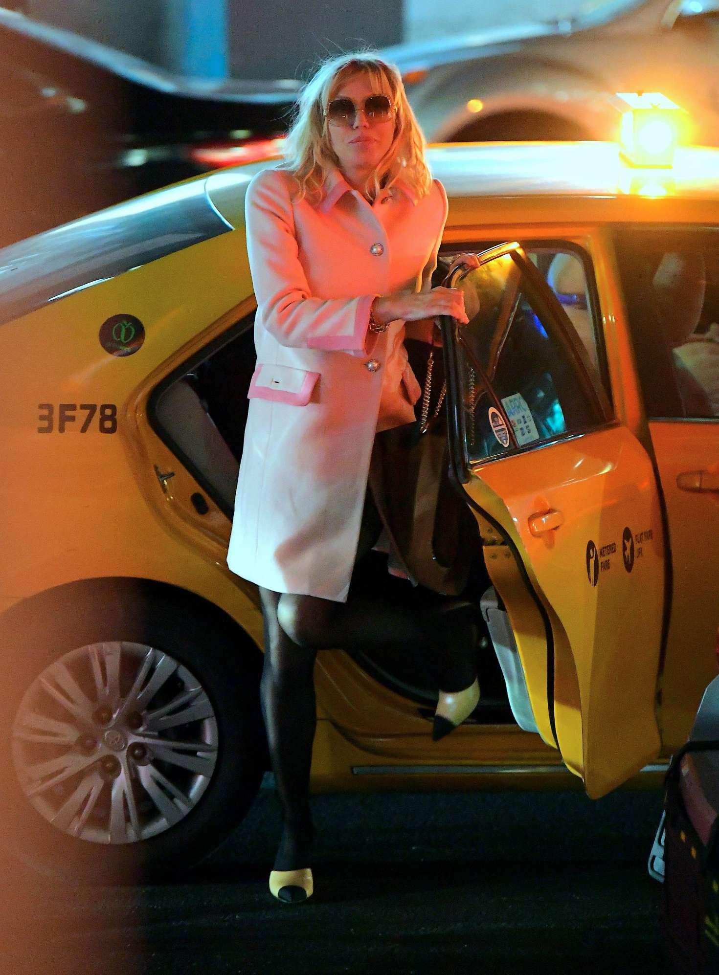 Courtney Love 2018 : Courtney Love: Arrives at the Mercer Kitchen -09