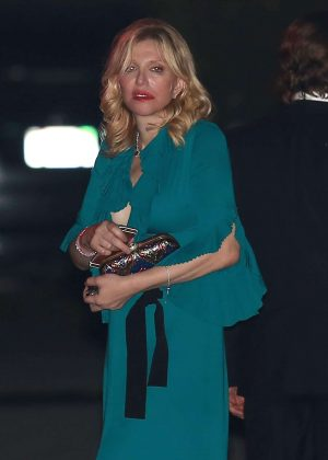 Courtney Love at Katy Perry Halloween Party in Hollywood