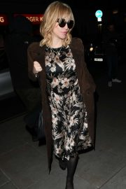 Courtney Love attend the Love Magazine party in London