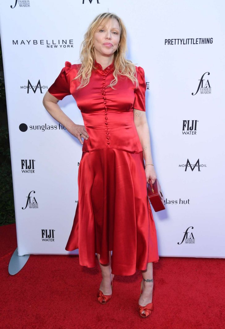 Courtney Love  - Daily Front Row Fashion Awards 2019 in LA