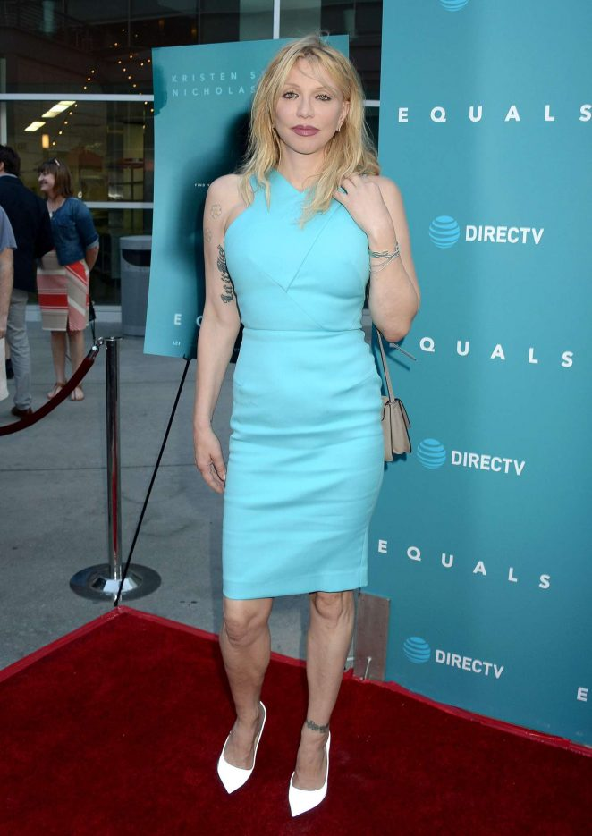 Courtney Love – 'Equals' Premiere in Los Angeles