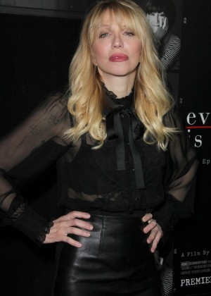 Courtney Love - 'Everything Is Copy' Premiere in Los Angeles