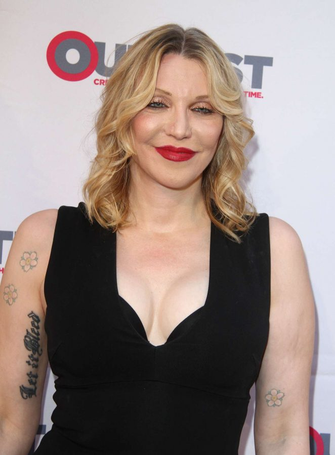Courtney Love - 'Freak Show' Screening at Outfest Film Festival in Los Angeles