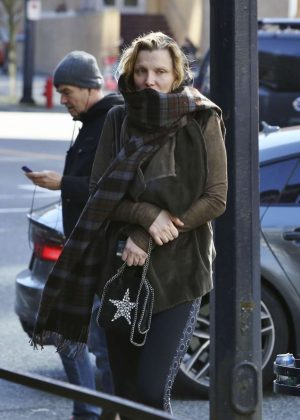 Courtney Love out in Los Angeles