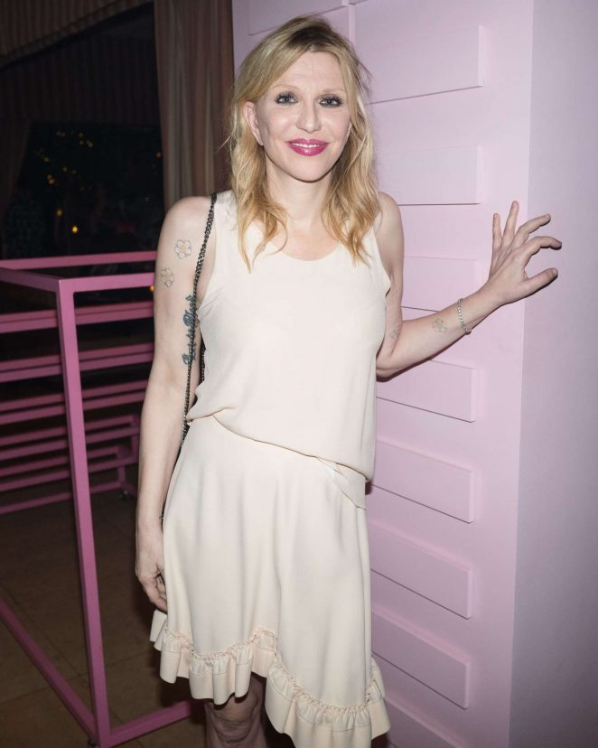 Courtney Love - 'Pop and Suki Collection 2' Event in Los Angeles