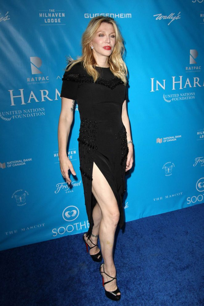 Courtney Love – Special Event For UN Secretary-General Ban Ki-moon in Los Angeles