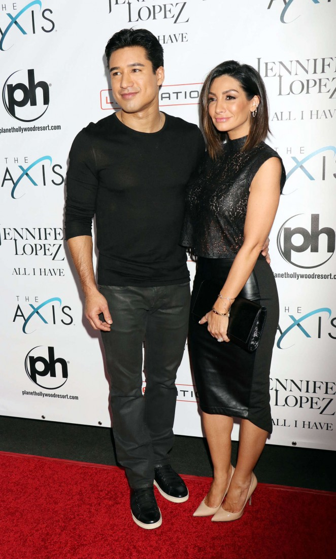 Courtney Mazza - Opening night of Jennifer Lopez's 'All I Have' Residency in Las Vegas