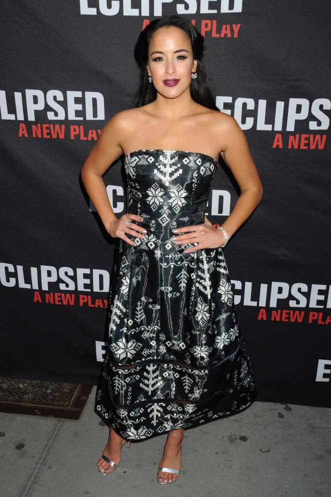 Courtney Reed - Eclipsed Broadway Opening Night in NY