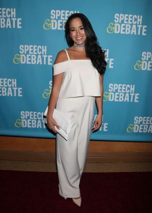 Courtney Reed - 'Speech & Debate' Premiere in New York