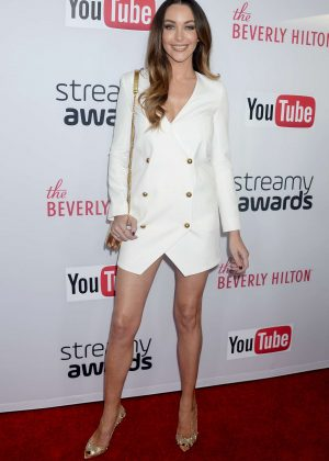 Courtney Sixx - 2016 Streamy Awards in Beverly Hills