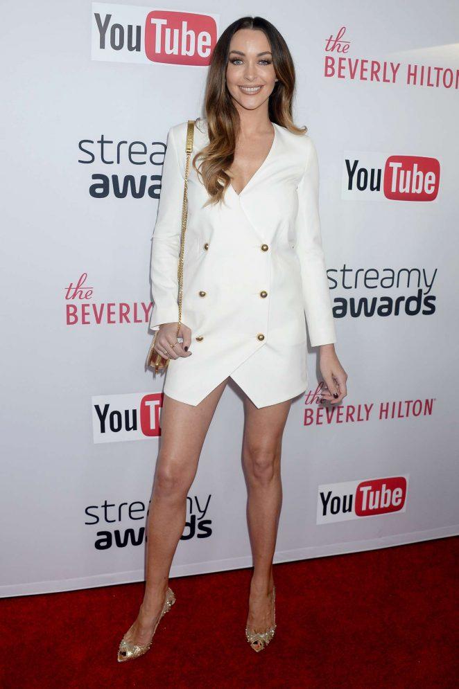 Courtney Sixx - 2016 Streamy Awards in Beverly Hills