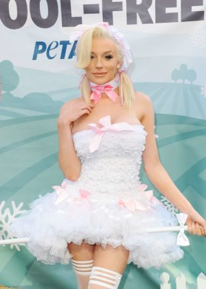 Courtney Stodden - Dressed as Bo Peep for a PETA Go Wool Free Photoshoot