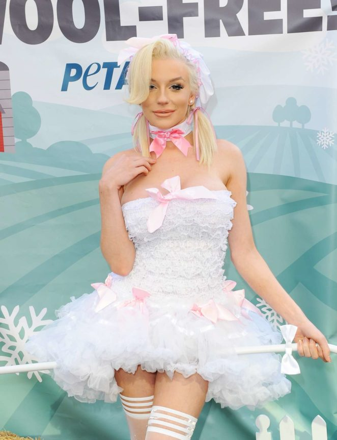 Courtney Stodden - Dressed as Bo Peep for a PETA Go Wool Free Photoshoot