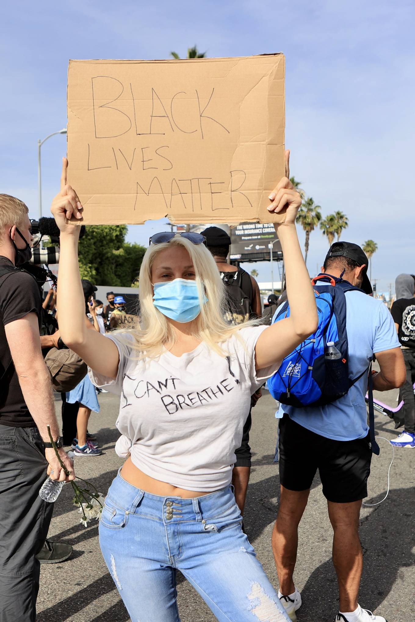 Courtney Stodden – Joins the protests against the killing of ...
