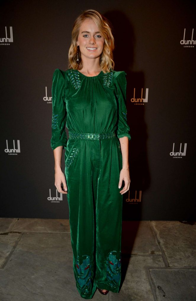 Cressida Bonas - Dunhill and GQ Pre-BAFTA Filmmakers Dinner and Party in London
