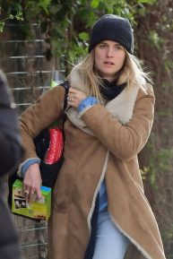 Cressida Bonas - Out in Notting Hill