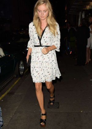 Cressida Bonas Out With Friends in London