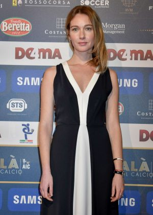 Cristiana Capotondi - Gran Gala of Football in Milan
