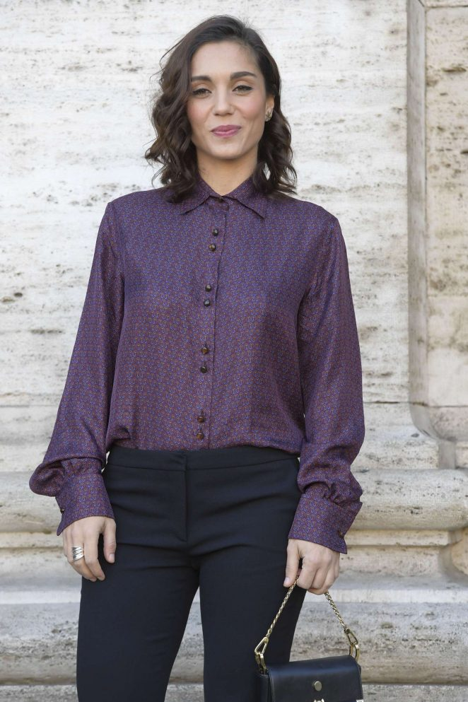 Cristiana Dell'Anna - 'Mister Felicita' Photocall in Rome