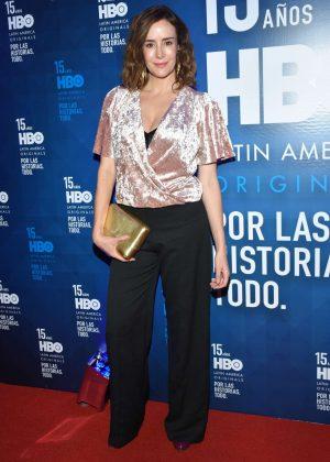 Cristina Campuzano - 15th HBO Latin America in Mexico City