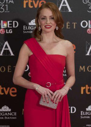 Cristina Castano - Goya Cinema Awards 2017 in Madrid