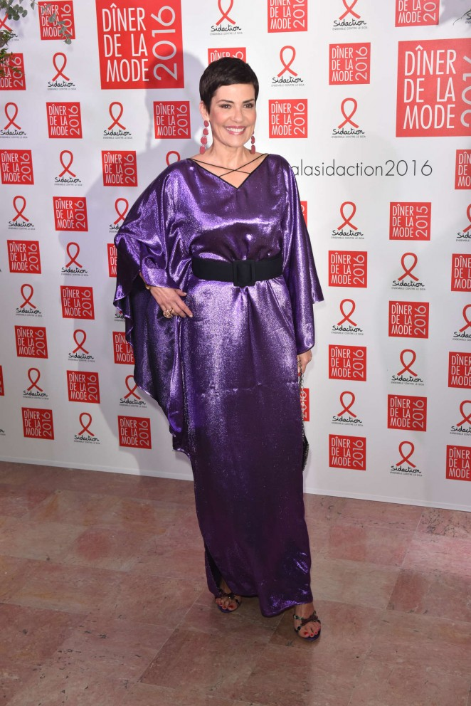 Cristina Cordula - Sidaction Gala Dinner 2016 in Paris