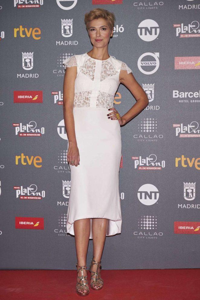 Cristina Urgel – Platino Awards 2017 in Madrid