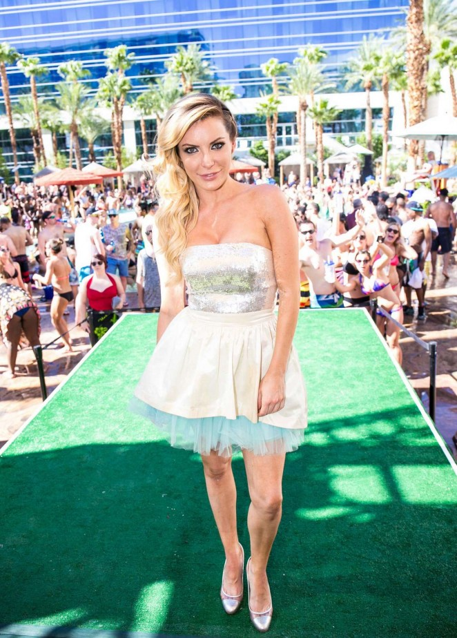 Crystal Hefner: Rehab Pool Party -03