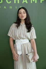 Crystal Reed - 2020 Longchamp show at New York Fashion Week
