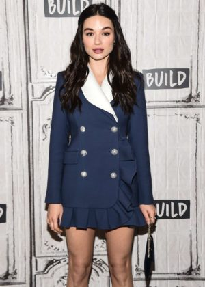 Crystal Reed at AOL Build Studio to discuss her role in 'Gotham' in NYC