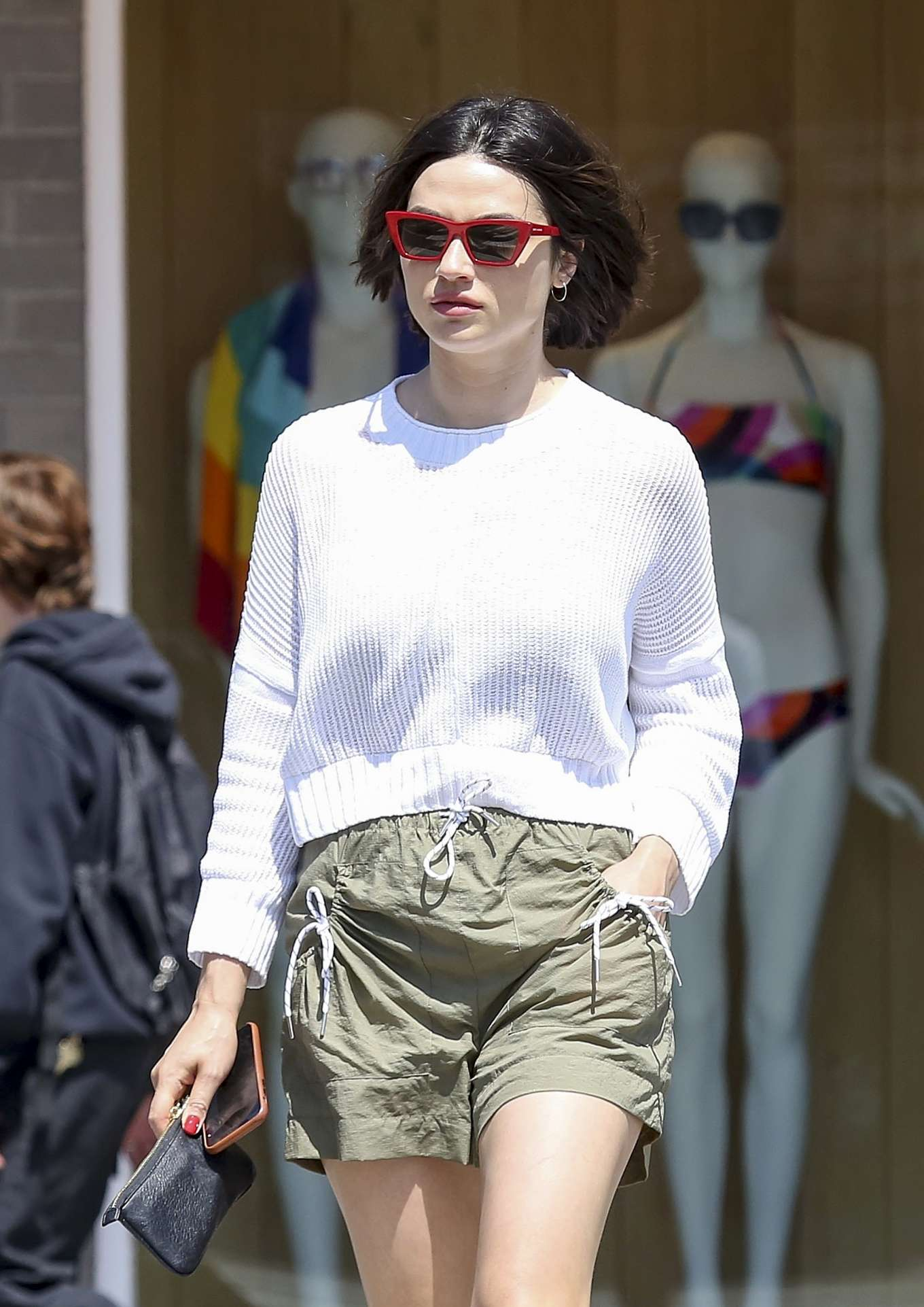 Crystal Reed in Shorts - Out in Los Angeles