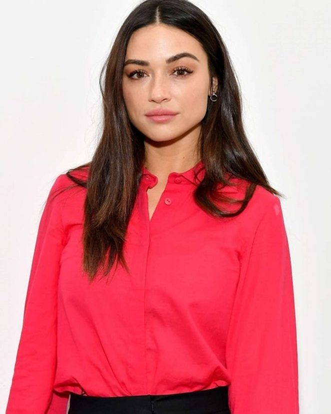 Crystal Reed – Noon By Noor Fashion Show in NYC